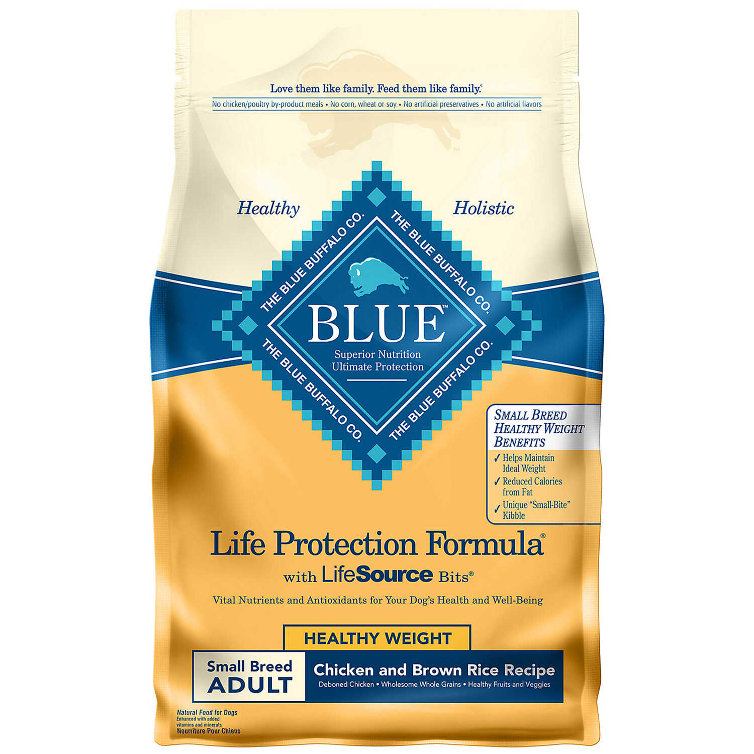 Blue Buffalo  Life Protection Formula  Chicken and Brown Rice  Dog  Food  6