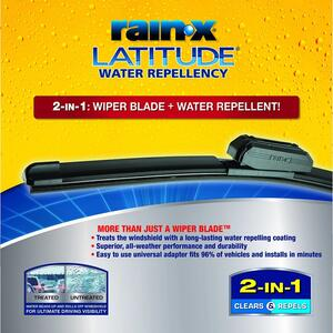 Rain-X  Latitude  28 in. All Season  Windshield Wiper Blade