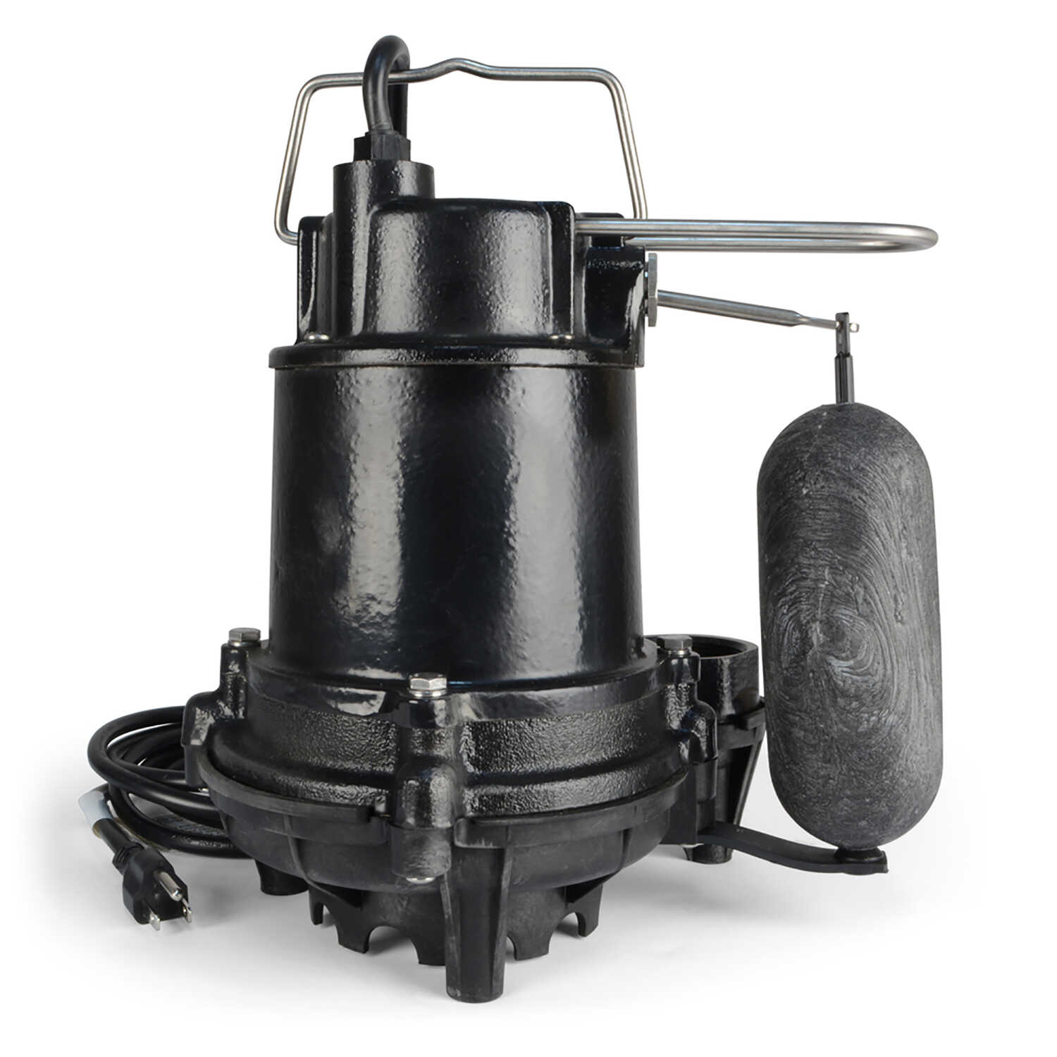 Ecoflo  1/2 hp 5100 gph Cast Iron  Submersible Sump Pump