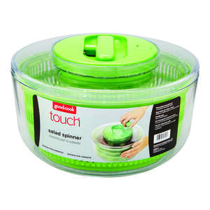Good Cook  Touch  Green/Clear  Salad Spinner
