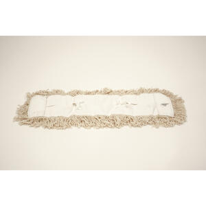 Elite  24 in. W Dust  4-Ply Cotton  Mop Refill  1 pk