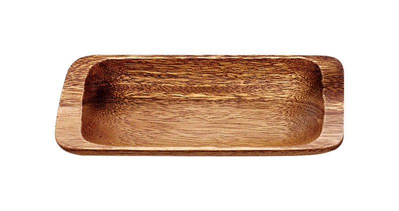 Pacific Merchants  Brown  Acacia Wood  tray  Serving Platter  1