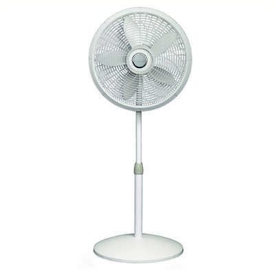 Lasko Elegance & Performance 54-1/2 in. H x 18 in. Dia. 3 speed Oscillating Pedestal Fan