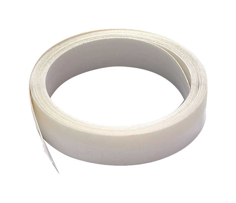 M-D Building Products  White  Plastic  Weather Stripping  For V Shaped 17 ft. L x 1/16 in.