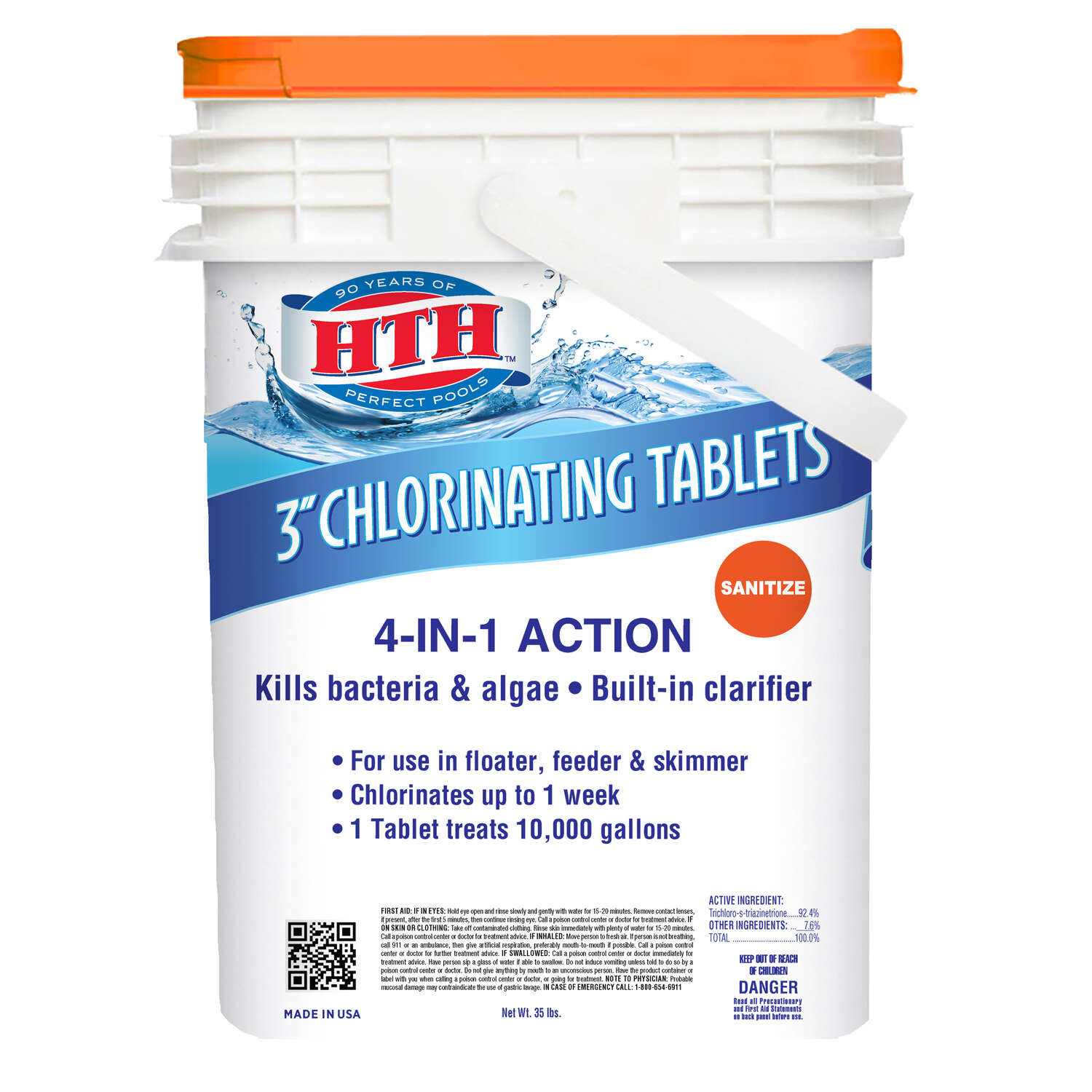 hth  Tablet  Chlorinating Chemicals  35 lb.