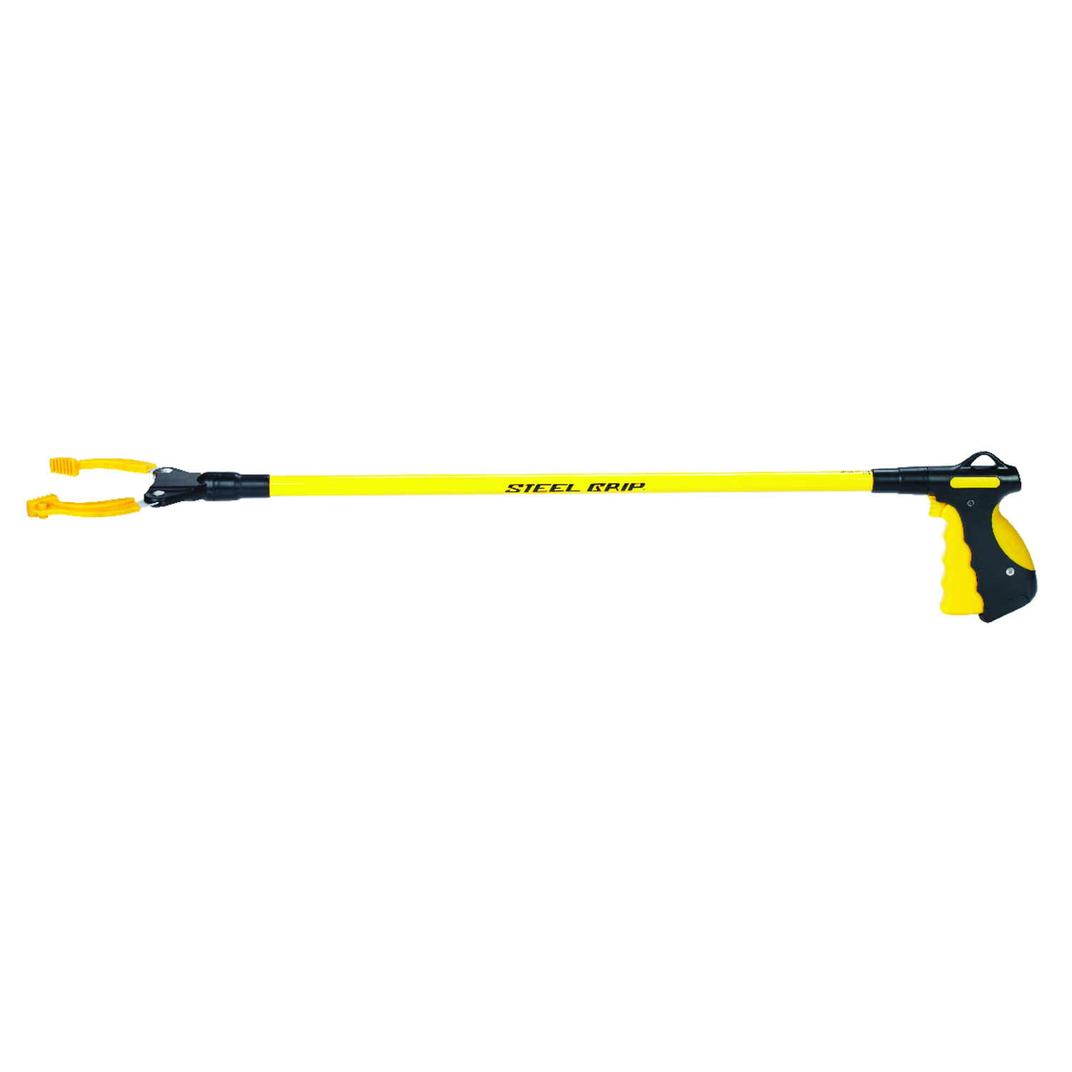 Steel Grip  36 in. Mechanical Pick-Up Tool  Aluminum  Yellow  20 lbs