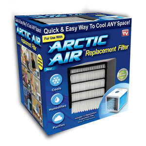 Arctic Air  As Seen On TV  4-5/16 in. W x 5-1/8 in. H x 4-5/16 in. D Air Conditioner Filter