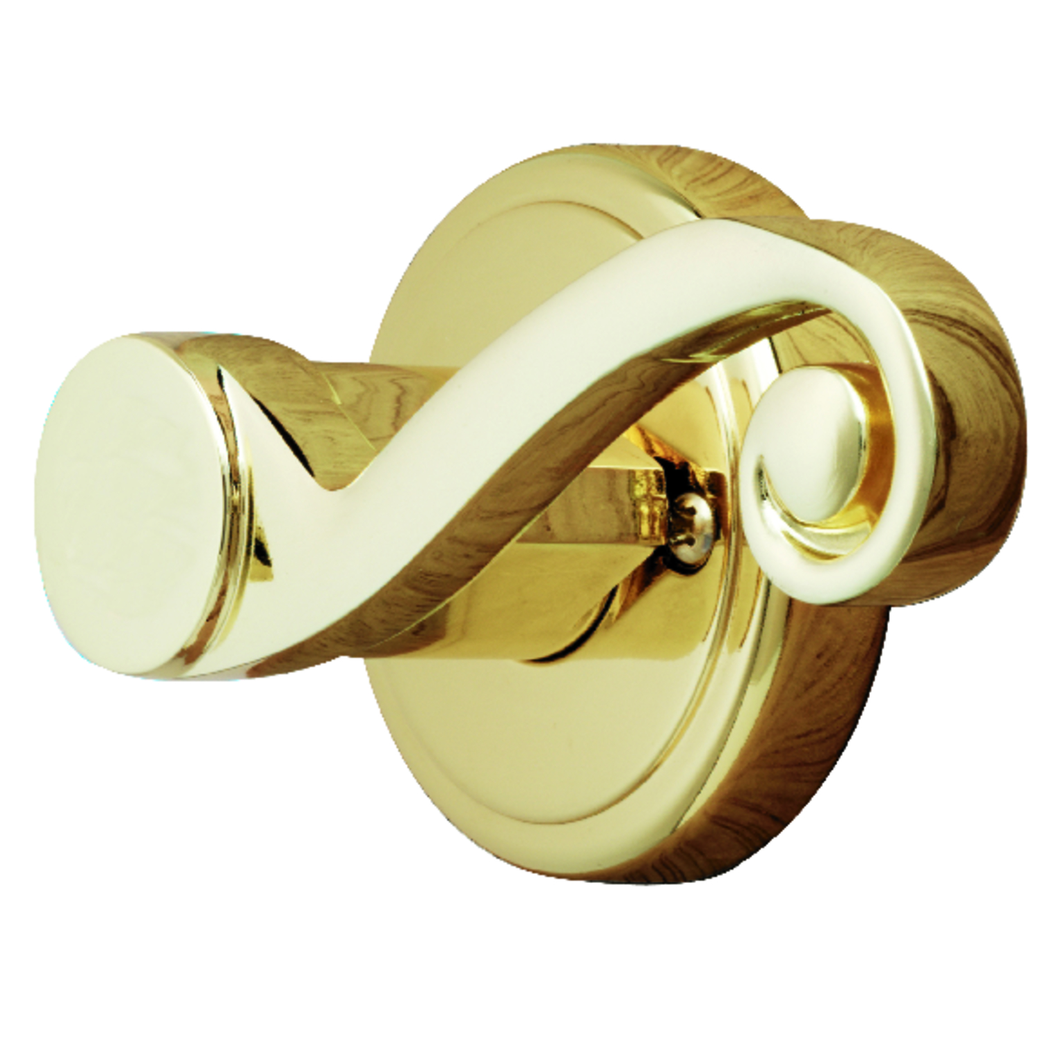 Ace  Scroll  Polished Brass  Steel  Dummy Lever  3 Grade Right Handed