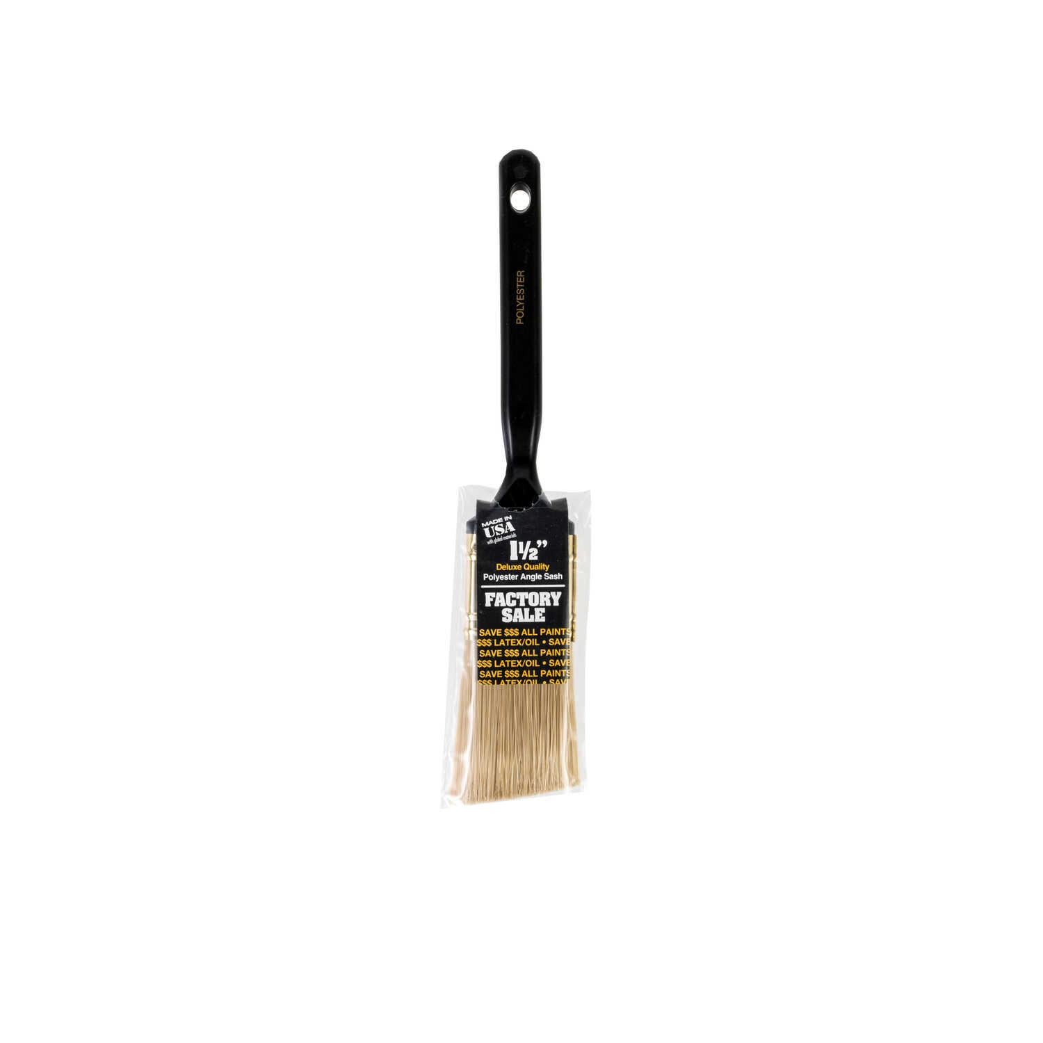 Wooster  1-1/2 in. W Angle  Polyester  Paint Brush