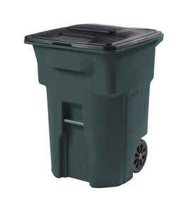 Toter  96 gal. Polyethylene  Wheeled Trash Can