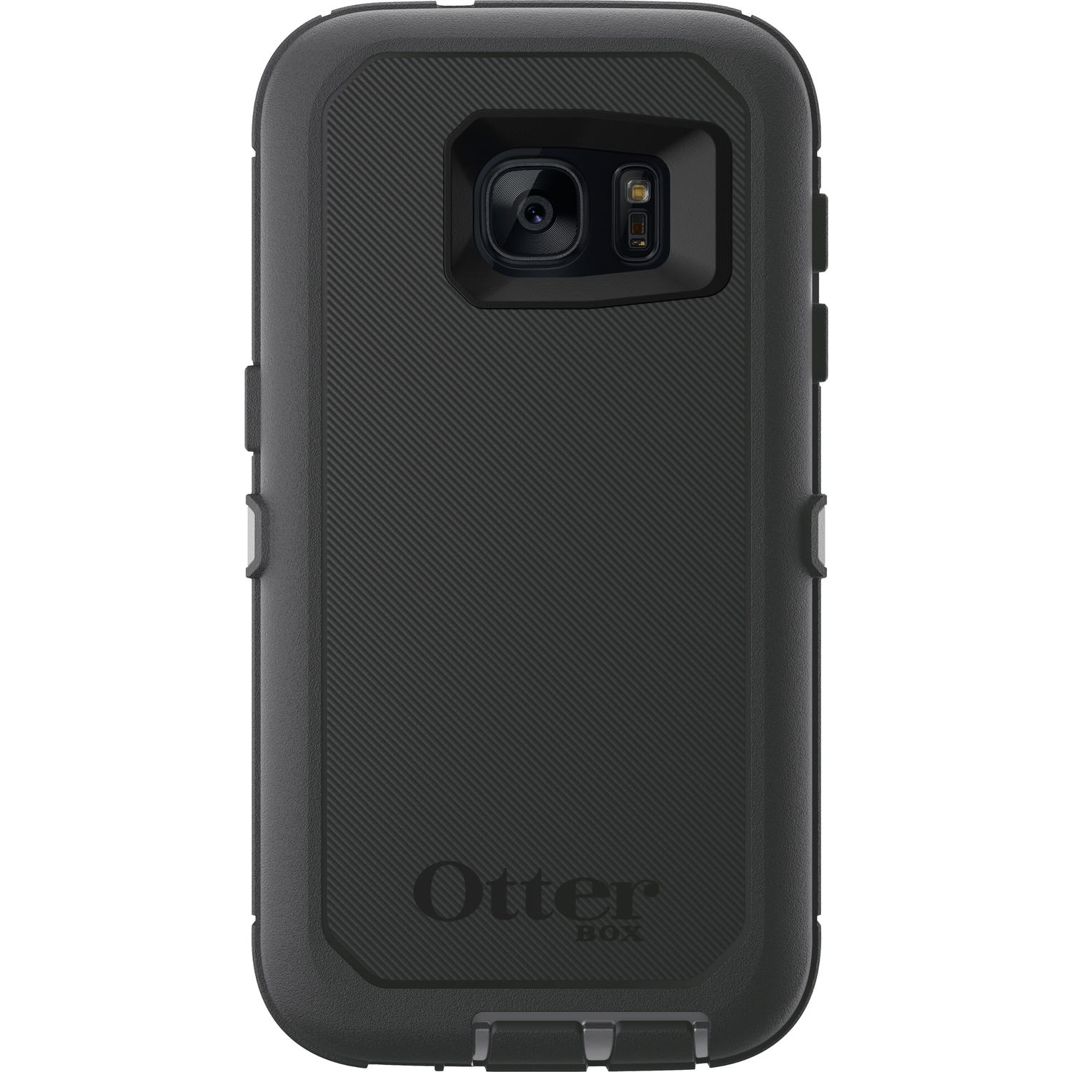 Otter Box  Defender  Black  Cell Phone Case  For Samsung, Samsung G7