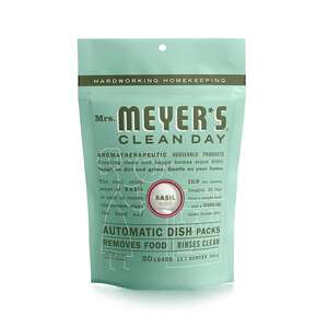 Mrs. Meyer's  Basil Scent Powder  Dishwasher Detergent  12.7 oz. 20 pk