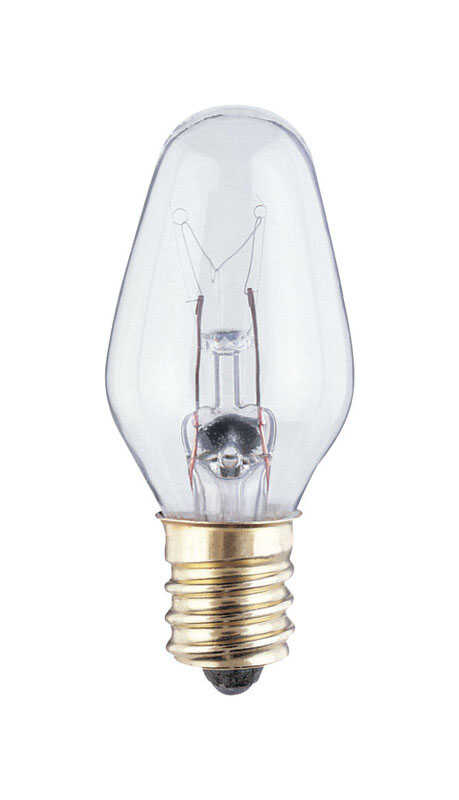 Westinghouse  4 watts C7  Incandescent Bulb  20 lumens White  Speciality  2 pk