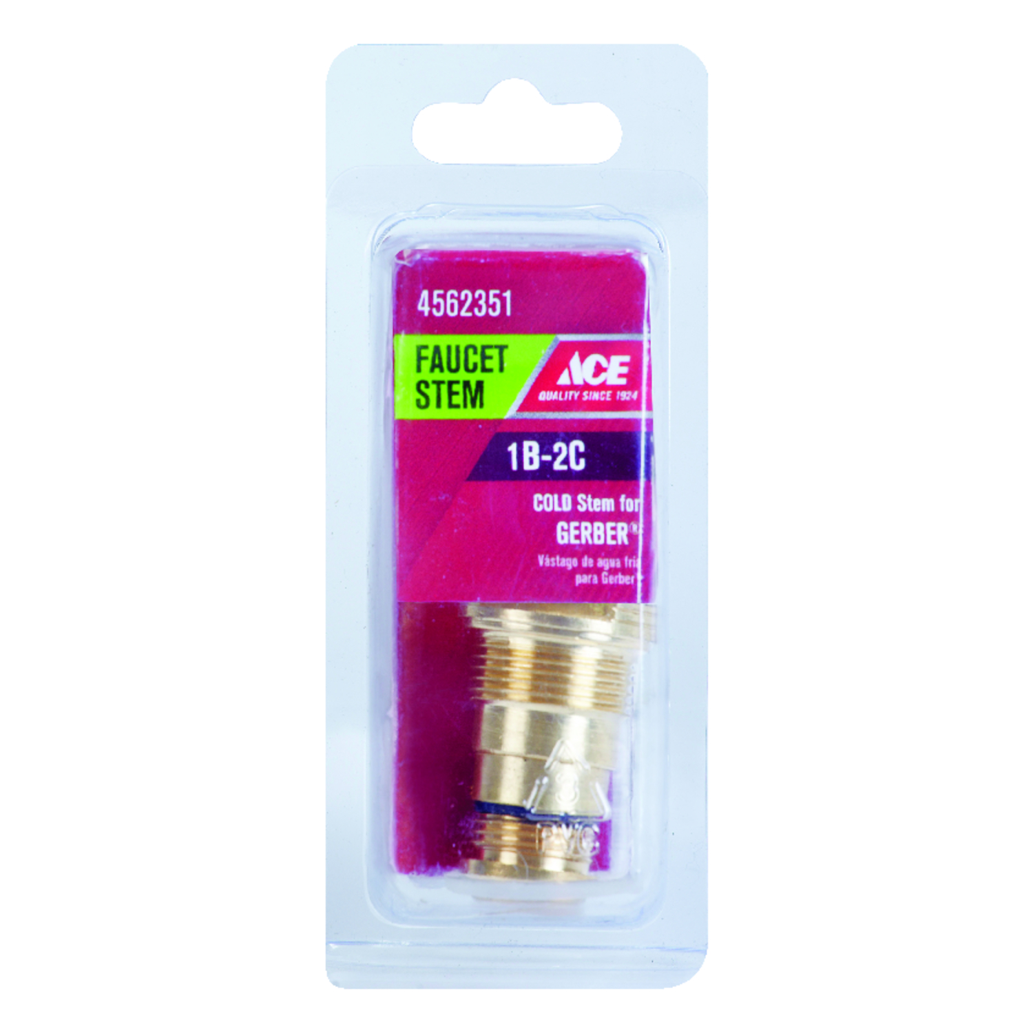 Ace  Low Lead  Cold  1B-2C  Faucet Stem  For Gerber
