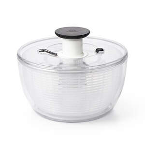 OXO  Good Grips  10-1/2 in. W x 10-1/2 in. L White/Clear  Salad Spinner