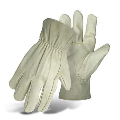 Boss  Men's  Indoor/Outdoor  Driver  Work Gloves  Tan  L  1 pair