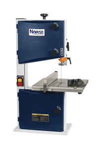 C.H. Hanson  Norse  67-3/8 in. Corded  Bench Top  Vertical Band Saw  3.4 amps 120 volt 1/3 hp 2980 r