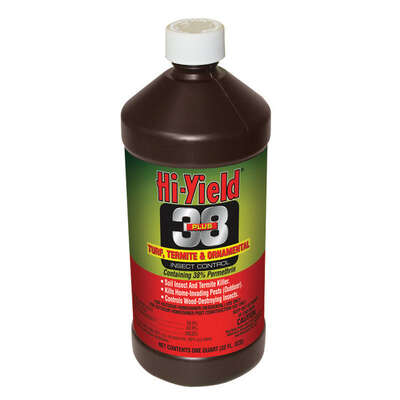 Hi-Yield  38 Plus Turf Termite and Ornamental  Liquid Concentrate  Insect Killer  32 oz.