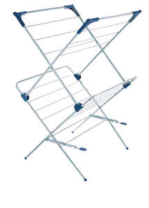 Polder  37.5 in. H x 23.5 in. W x 21.25 in. D Steel/Plastic  Clothes Drying Rack
