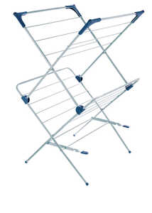 Polder  23.5 in. W x 21.25 in. D x 37.5 in. H Clothes Drying Rack  Steel/Plastic