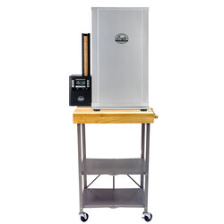 Bradley Smoker 36 in. H x 6 in. W x 20 in. L Rectangular Folding Side Table