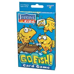 Playmonster  Imperial  Go Fish Card Game  Multicolored