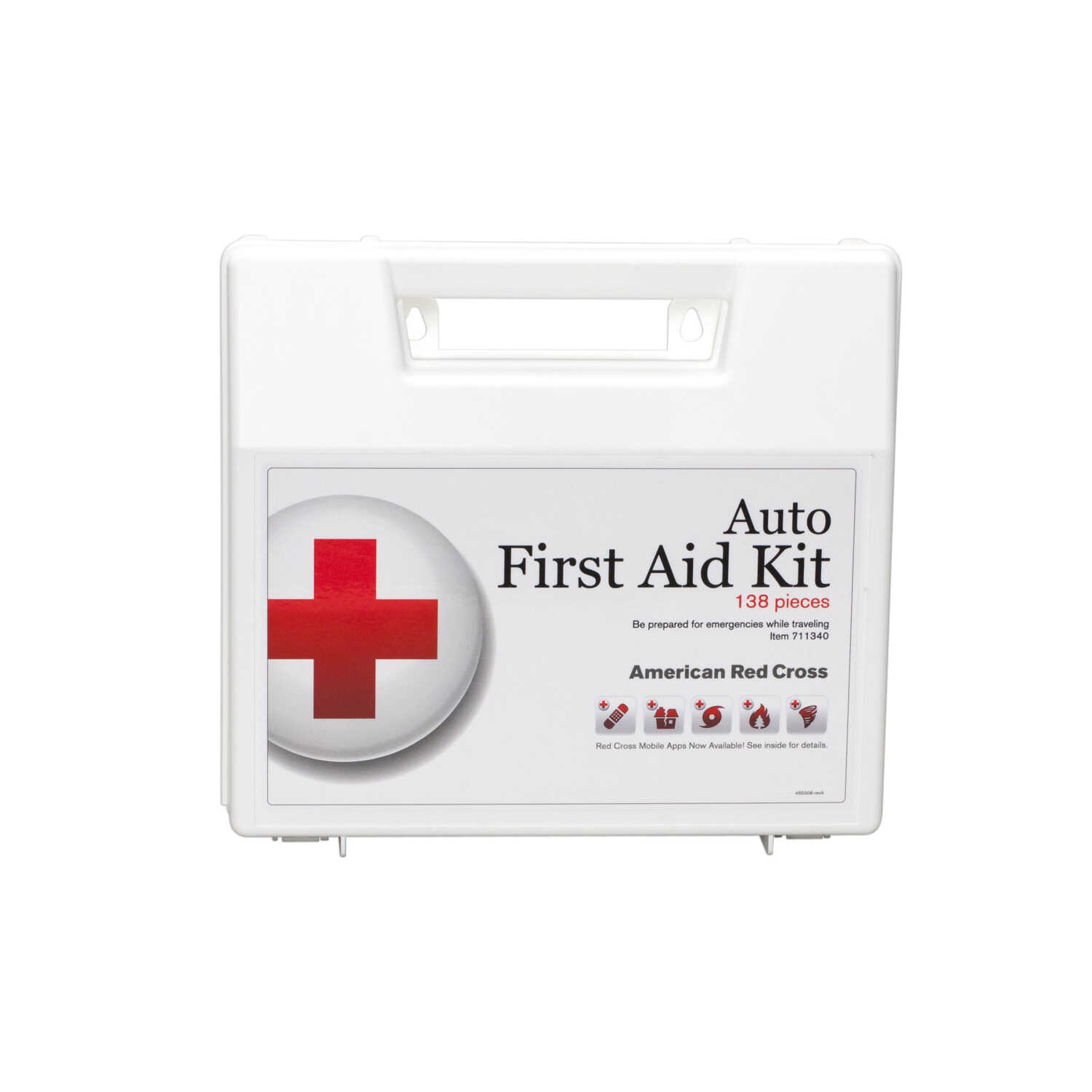 American Red Cross  Auto First Aid Kit  138 pc.