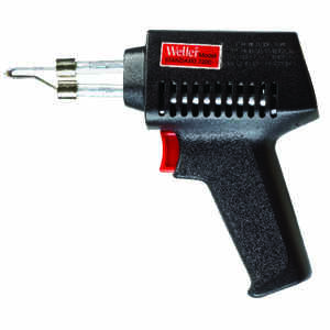 Weller  Cooper Tools  14.6 in. Corded  Soldering Gun Kit  75 watts Black  1