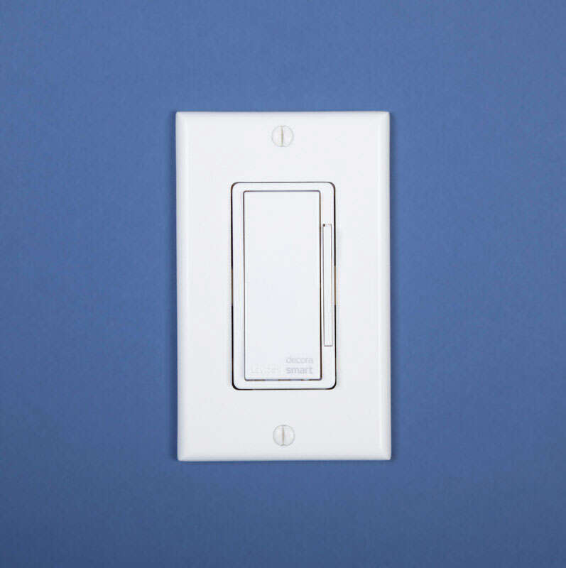 Leviton 15 amps Decora WiFi In-Wall Wireless Light Switch Light ...