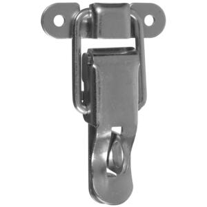 National Hardware  Zinc-Plated  Steel  3-7/16 in. Lockable Drawer Catch  2 pk
