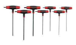 Craftsman  1/4  SAE  T-Handle  Ball End Hex Key Set  1/4 in. 7 pc.