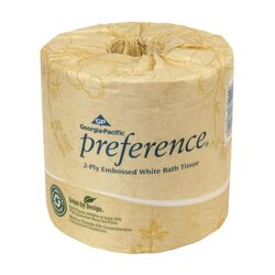 Georgia Pacific  Preference  Toilet Paper  80 roll 550 sheet