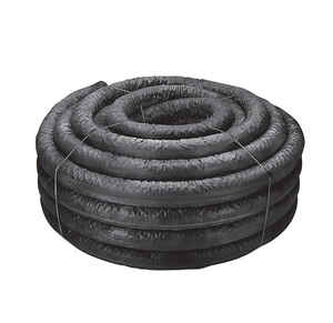 ADS  100 ft. L x 4 in. Dia. Polyethlene  Corrugated Drainage Tubing