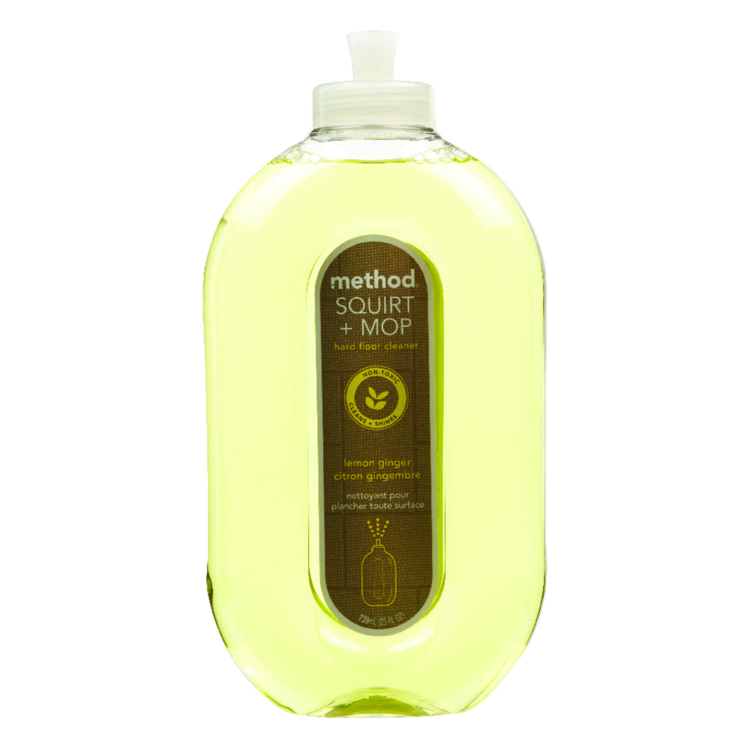Method  Lemon Ginger Scent Floor Cleaner  25 oz. Liquid
