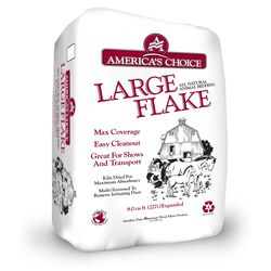 Americas Choice Large Flake 8 Wood Animal Bedding