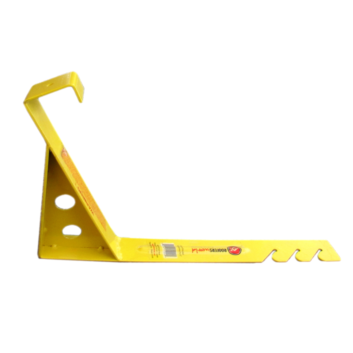 Roofers World  Endura Bracket  Steel  Yellow  Roof Bracket  1 pk