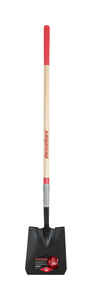Razor-Back  Steel  10 in. W x 59.5 in. L Square point  Shovel  Wood