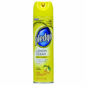 Pledge  Lemon Scent Furniture Polish  9.7 oz. Spray