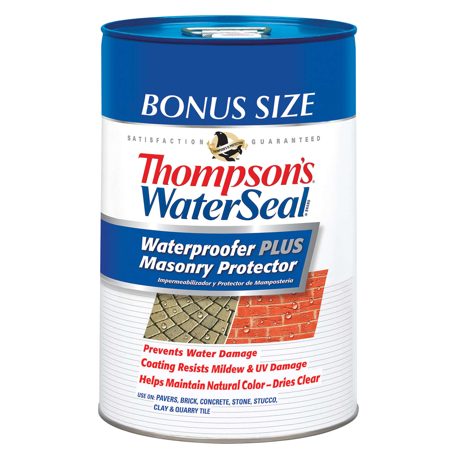 Thompson's WaterSeal  Waterproofer PLUS  Clear  Masonry Waterproof Sealer  6 gal.