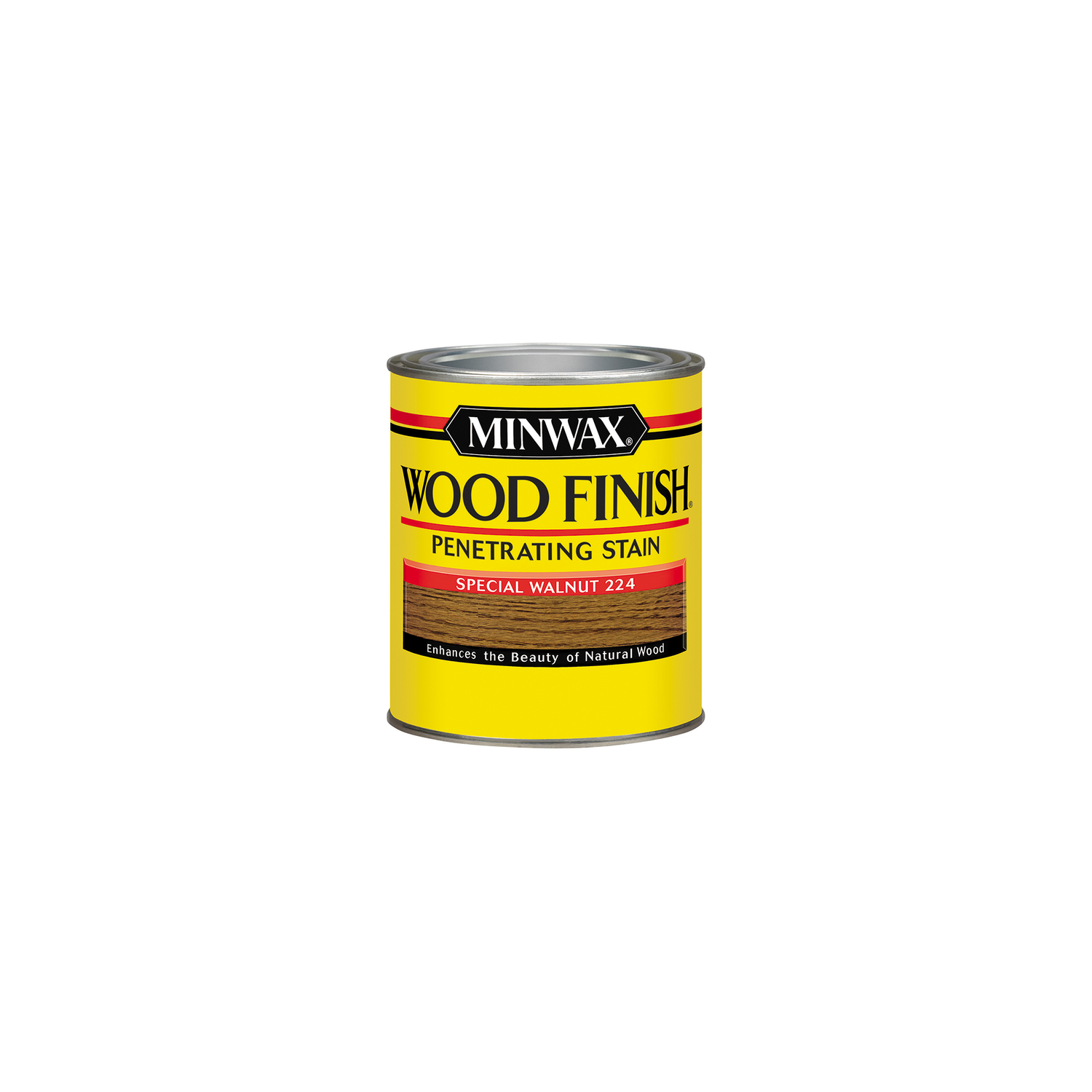 Minwax  Wood Finish  Semi-Transparent  Special Walnut  Oil-Based  Oil  Wood Stain  0.5 pt.