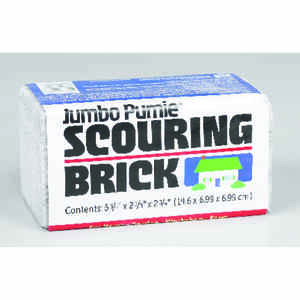US Pumice  Pumie  Heavy Duty  Scouring Brick  For Multi-Purpose 6 in. L 1 pk