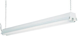 Lithonia Lighting  48 in. 68 watts Fluorescent  Shop Light