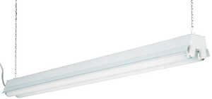 Lithonia Lighting  48 in. Shop Light  68 watts Fluorescent