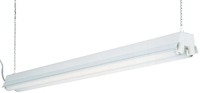 Lithonia Lighting 48 In 32 Watt Fluorescent 2 Light Shop Light