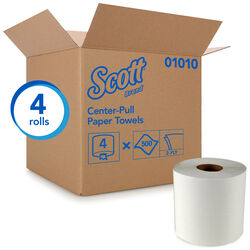Scott  Center Pull Towels  500 sheet 2 ply 4 pk