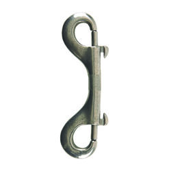 Campbell Chain  3/8 in. Dia. x 4 in. L Polished  Stainless Steel  Double Ended Bolt Snap  130 lb.