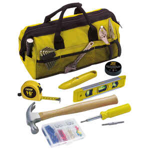 Steel Grip  20 pc. Home  Repair Kit  Yellow
