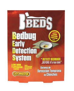 Catchmaster  BBeds  Insect Repellent Device  Pads  For Bed Bugs 1 oz.