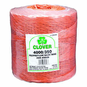 Clover  4000 ft. L Orange  Poly  Twine