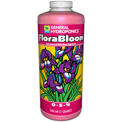 General Hydroponics FloraBloom Plant Nutrients 1 qt.